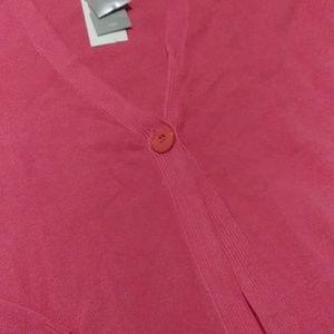 Charter Club Sweaters - Charter club pink cardigan